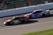 #18: Kyle Busch, Joe Gibbs Racing, Toyota Camry M&M's Halloween and #47: A.J. Allmendinger, JTG Daugherty Racing, Chevrolet Camaro Kroger ClickList