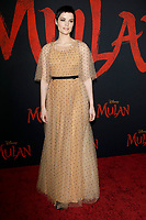 "LOS ANGELES - MAR 9:  Jaimie Alexander at the ""Mulan"" Premiere at the Dolby Theater on March 9, 2020 in Los Angeles, CA"