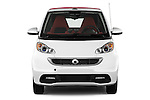 Straight front view of a 2013 Smart For Two Cabriolet