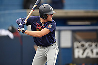Blake Shapen (5) during the Under Armour All-America Game Practice, powered by Baseball Factory, on July 21, 2019 at Les Miller Field in Chicago, Illinois.  Blake Shapen attends Evangel Christian Academy in Shreveport, Louisiana and is committed to Baylor University.  (Mike Janes/Four Seam Images)