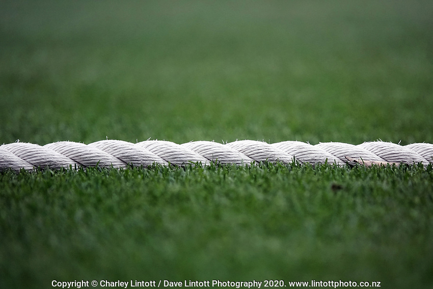 The boundary rope during day four of the Plunket Shield match between the Wellington Firebirds and Otago Volts at Basin Reserve in Wellington, New Zealand on Sunday, 8 November 2020. Photo: Charley Lintott / lintottphoto.co.nz