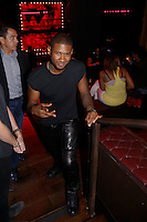 New York, Sept 6, 2014. Nova's Red Room performance by Usher at the Marquee club in Manhattan. photo by Trevor Collens