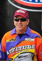 Nov. 2, 2008; Las Vegas, NV, USA: NHRA pro stock driver Greg Stanfield during the Las Vegas Nationals at The Strip in Las Vegas. Mandatory Credit: Mark J. Rebilas-