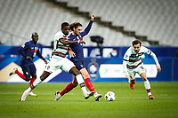 W Carvalho ( 14 - Portugal ) - Adrien Rabiot ( 8 - France ) - PARIS 11/10/2020 Saint Denis <br /> Nations League France Vs. Portugal <br /> Photo Federico Pestellini / Panoramic / Insidefoto  <br /> ITALY ONLY
