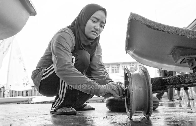 ISAF Emerging Nations Program, Langkawi, Malaysia.<br />Natasha Nabila Bt Sawal from Malaysia.