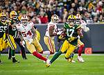 Green Bay Packers against the San Francisco 49ers during a regular season game at Lambeau Field in Green Bay on Monday, October 15, 2018.
