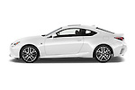 Car Driver side profile view of a 2015 Lexus RC F Sport 2 Door Coupe 2WD Side View