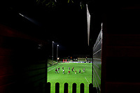 General View of The Dripping Pan as Bristol City Women warm up during Lewes Women vs Bristol City Women, FA Women's Continental League Cup Football at The Dripping Pan on 18th November 2020