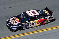 Feb 07, 2009; Daytona Beach, FL, USA; NASCAR Sprint Cup Series driver Brian Vickers during practice for the Daytona 500 at Daytona International Speedway. Mandatory Credit: Mark J. Rebilas-