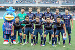SC Kitchee Squad during the Nike Lunar New Year Cup 2017 match between SC Kitchee (HKG) and Auckland City FC (NZL) on January 31, 2017 in Hong Kong, Hong Kong. Photo by Marcio Rodrigo Machado / Power Sport Images
