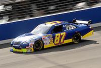 Feb 20, 2009; Fontana, CA, USA; NASCAR Sprint Cup Series driver Joe Nemechek during practice for the Auto Club 500 at Auto Club Speedway. Mandatory Credit: Mark J. Rebilas-