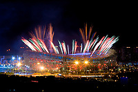 Aug 08, 2008, Beijing, China, The Opening Ceremony of the Beijing 2008 Olympic Games at the National Stadium, known as Bird's Nest.