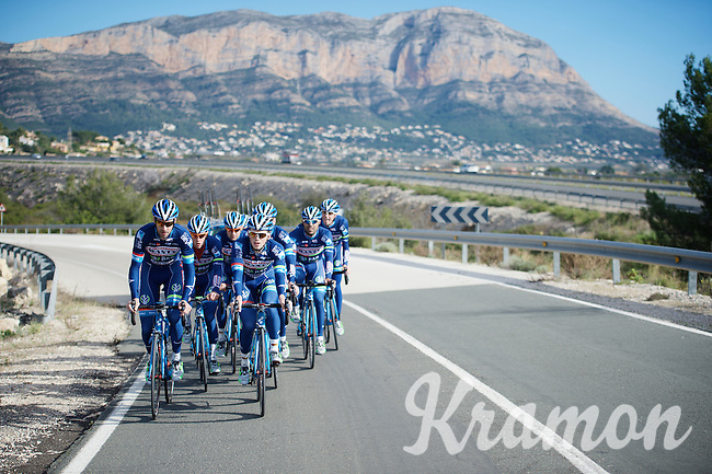 Pro Cycling Team Wanty-Groupe Gobert <br /> <br /> Pre-season Training Camp, january 2016