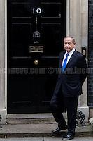 06.02.2017 - The Prime Minister of Israel Benjamin Netanyahu at 10 Downing St.