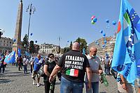 Ripartire dal lavoro, CGIL Cisl e UIL in piazza del Popolo