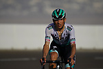 Cesare Benedetti (ITA) Bora-Hansgrohe on the final climb of Stage 3 of the 2021 UAE Tour running 166km from Al Ain to Jebel Hafeet, Abu Dhabi, UAE. 23rd February 2021.  <br /> Picture: Eoin Clarke | Cyclefile<br /> <br /> All photos usage must carry mandatory copyright credit (© Cyclefile | Eoin Clarke)