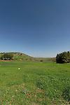 Israel, the Shephelah. Rolling hills near Amatzia