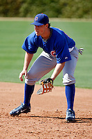 Ryan Keedy - Chicago Cubs - 2009 spring training.Photo by:  Bill Mitchell/Four Seam Images