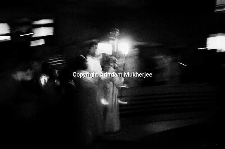 Christmas ceremonies at a church, in Kolkata.