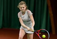 Wateringen, The Netherlands, March 14, 2018,  De Rhijenhof , NOJK 14/18 years, Pippa Bosman (NED)<br /> Photo: www.tennisimages.com/Henk Koster