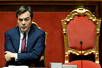 Vincenzo Amendola minister of European affairs<br /> Rome February 18th 2020. Senate. Speech of the Italian Premier about the next European Council.<br /> Foto Samantha Zucchi Insidefoto
