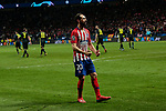 Atletico de Madrid's Juanfran Torres during UEFA Champions League match, Round of 16, 1st leg between Atletico de Madrid and Juventus at Wanda Metropolitano Stadium in Madrid, Spain. February 20, 2019. (ALTERPHOTOS/A. Perez Meca)