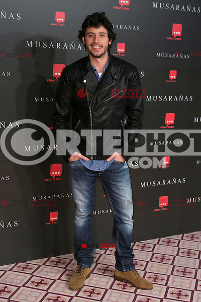 "Javier Pereira attend the Premiere of the movie ""Musaranas"" in Madrid, Spain. December 17, 2014. (ALTERPHOTOS/Carlos Dafonte) /NortePhoto /NortePhoto.com"