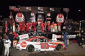 #20: Christopher Bell, Joe Gibbs Racing, Toyota Camry Rheem wins.