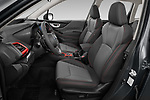 Front seat view of 2021 Subaru Forester e-Boxer-Sport 5 Door SUV Front Seat  car photos