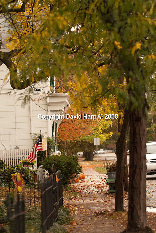 Fall, Oxford, Maryland.   Tred Avon River