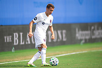 LAKE BUENA VISTA, FL - JULY 23: Fabian Herbers #21 of the Chicago Fire dribbles the ball during a game between Chicago Fire and Vancouver Whitecaps at Wide World of Sports on July 23, 2020 in Lake Buena Vista, Florida.