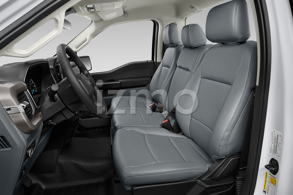 Front seat view of 2021 Ford F-150 XL 4 Door Pick-up Front Seat  car photos