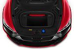 Car Stock 2021 Audi e-tron-GT RS 4 Door Sedan Engine  high angle detail view