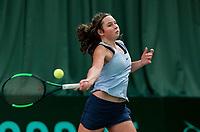 Wateringen, The Netherlands, March 16, 2018,  De Rhijenhof , NOJK 14/18 years, Nat. Junior Tennis Champ.  Danique Havermans (NED)<br />  Photo: www.tennisimages.com/Henk Koster