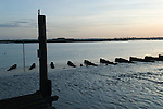 Burnham on Crouch Essex River Crouch Estuary, looking south to Wallasea Island 2016
