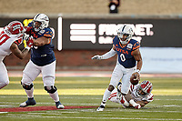 DALLAS, TX - DECEMBER 26, 2020: The University of Texas at San Antonio Roadrunners fall to the University of Louisiana at Lafayette Ragin' Cajuns 31-24 in the SERVPRO First Responders Bowl at the Gerald J. Ford Stadium (Photo by Jeff Huehn).