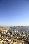 Samaria, a view of Balata from Mount Gerizim