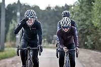 photoshoot Peloton de Paris cycling apparel<br /> fall 2020 collection<br /> <br /> shot in Belgium<br /> by ©kramon