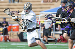 San Diego, CA 05/25/13 - unidentified Westview player(s) and Henry Gardener (Carlsbad #7) in action during the 2013 Boys Lacrosse San Diego CIF DIvision 1 Championship game.  Westview defeated Carlsbad 8-3.
