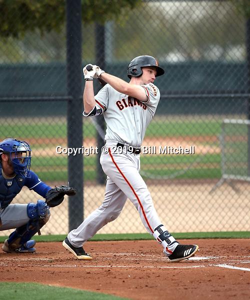Ryan Kirby - San Francisco Giants 2019 spring training (Bill Mitchell)