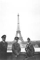 Der Fuhrer in Paris.  Hitler in Paris.  June 23, 1940.  Heinrich Hoffman Collection.  (Foreign Records Seized)<br /> NARA FILE #:  242-HLB-5073-20<br /> WAR & CONFLICT BOOK #:  998