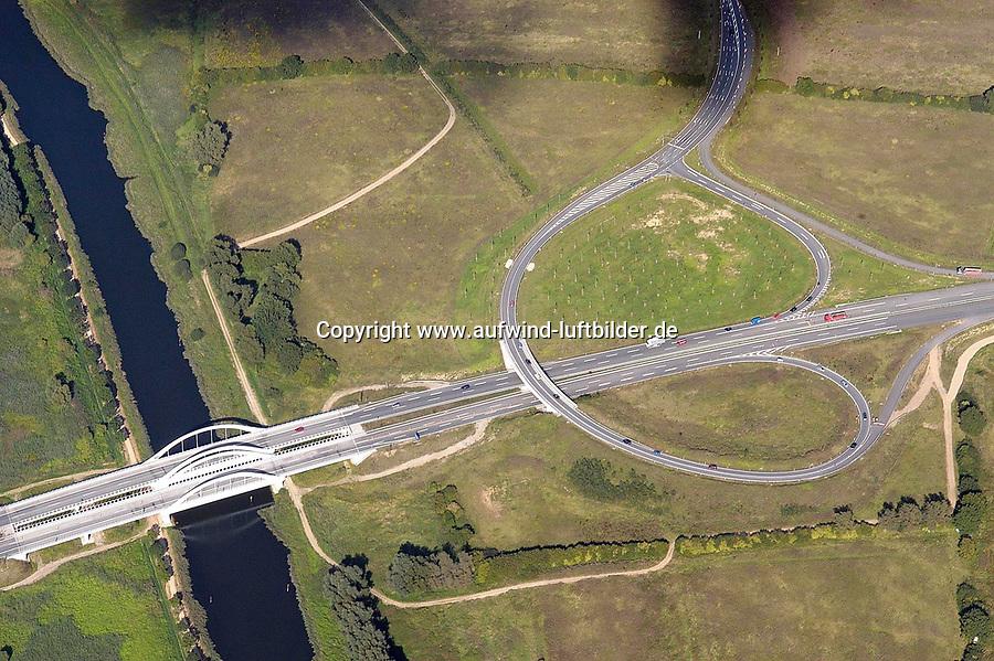 Deutschland, Schleswig- Holstein, Luebeck, A20, Elbe Luebeck Kanal
