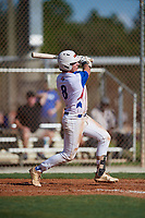 Daniel Baruch during the WWBA World Championship at the Roger Dean Complex on October 19, 2018 in Jupiter, Florida.  Daniel Baruch is a first baseman from Cranston, Rhode Island who attends Wheeler High School and is committed to Boston College.  (Mike Janes/Four Seam Images)