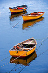 Fishing boats, southern Chile in South America