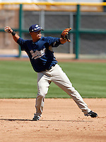 Everth Cabrera - San Diego Padres - 2009 spring training.Photo by:  Bill Mitchell/Four Seam Images