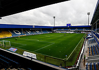 31st October 2020; The Kiyan Prince Foundation Stadium, London, England; English Football League Championship Football, Queen Park Rangers versus Cardiff City; empty stadium due to the p;andemic