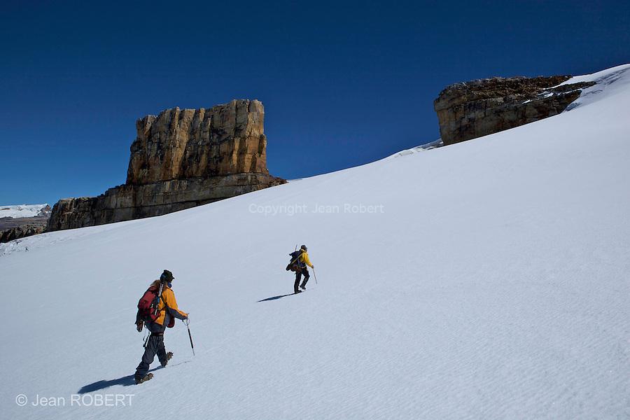 pulpito del diablo (5070 m).Sierra del Cocuy