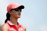 CHON BURI, THAILAND - FEBRUARY 20:  Michelle Wie of USA looks on during day four of the LPGA Thailand at Siam Country Club on February 20, 2011 in Chon Buri, Thailand. Photo by Victor Fraile / The Power of Sport Images