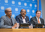 Press briefing on the CARICOM-UN High-level Pledging Conference: Building a more Climate-Resilient c
