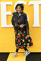 """LONDON, UK. June 18, 2019: Meera Syal arriving for the UK premiere of """"Yesterday"""" at the Odeon Luxe, Leicester Square, London.<br /> Picture: Steve Vas/Featureflash"""